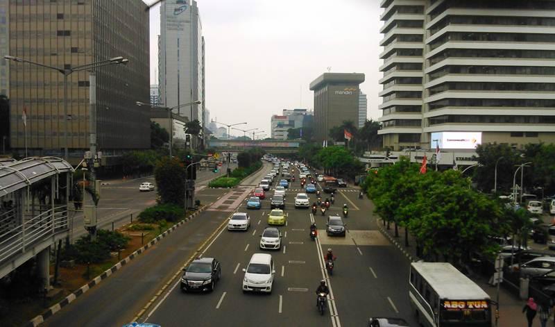 Jalan MH Thamrin Jakarta Pusat
