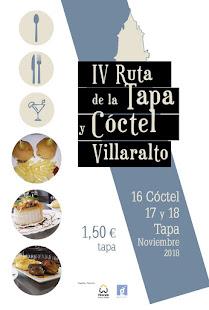 IV Ruta de la Tapa y Cóctel en Villaralto.
