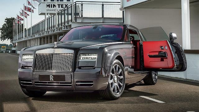 Rolls-Royce Bespoke Chicane Phantom Coupé door