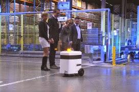 Drone en robot doorkruisen K+N dc in Tiel