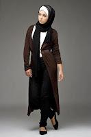 девушка в хиджабе и брюках