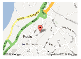 Rocktime's Google Places map