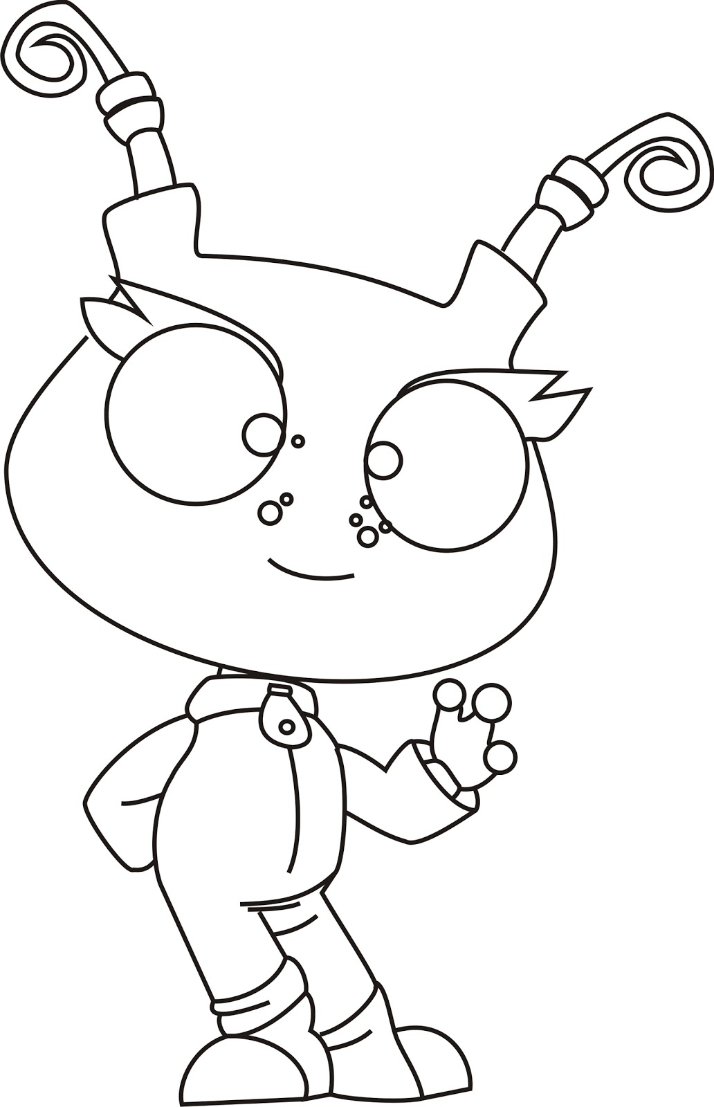 Free Coloring Pages Of Iggle Piggle Iggle Piggle Colouring Pages