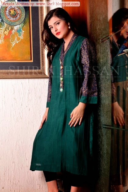 Shirin Hassain Eid Ul Azha Dress Collection 2014
