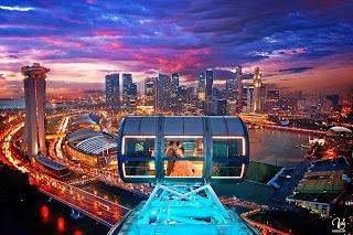 Singapore Flyer, Harga Tiket, Lokasi dan Cara Menuju Singapore Flyer