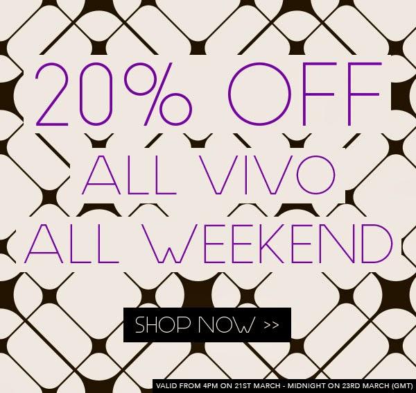 VIVO Cosmetics - Sconto 20% su tutto