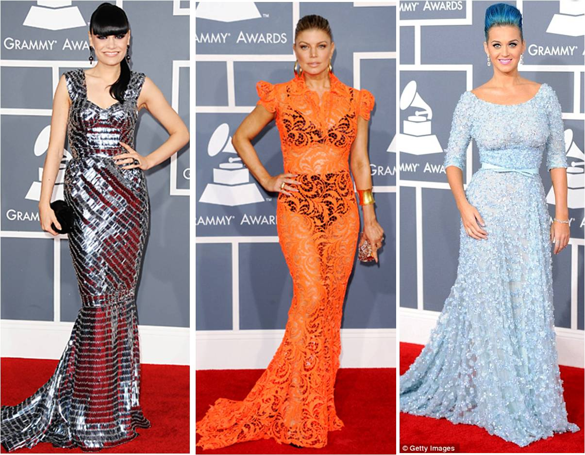 2012 grammy awards red carpet almost but not quite