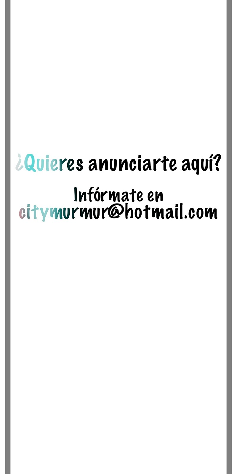 ¿Quieres que te vean?