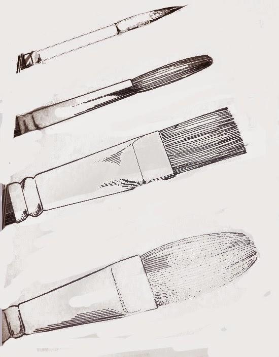 El arte de Arantxa: Pinceles para pintar al óleo