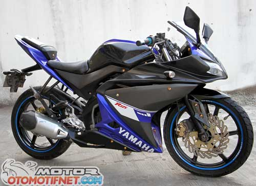 Modifikasi Yamaha V-Ixion ala YZF-R 125