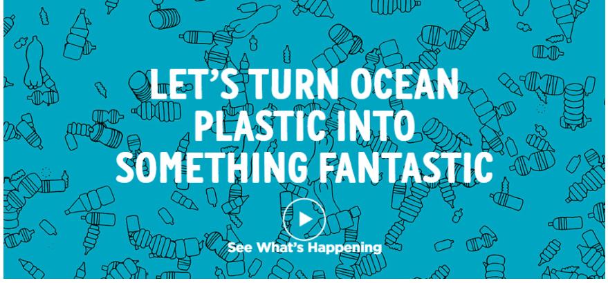 Ocean Fabric : Happy Ocean Happy Life