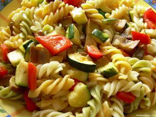 Espaguetis con Legumbres