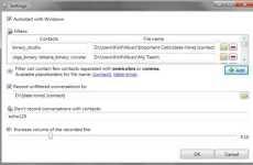 Grabar conversaciones de Skype en mp3 Skype Auto Recorder