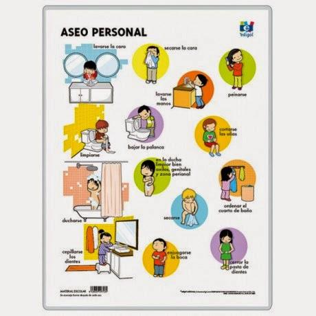 Educaci n infantil con tic higiene personal for Normas de higiene personal en la cocina