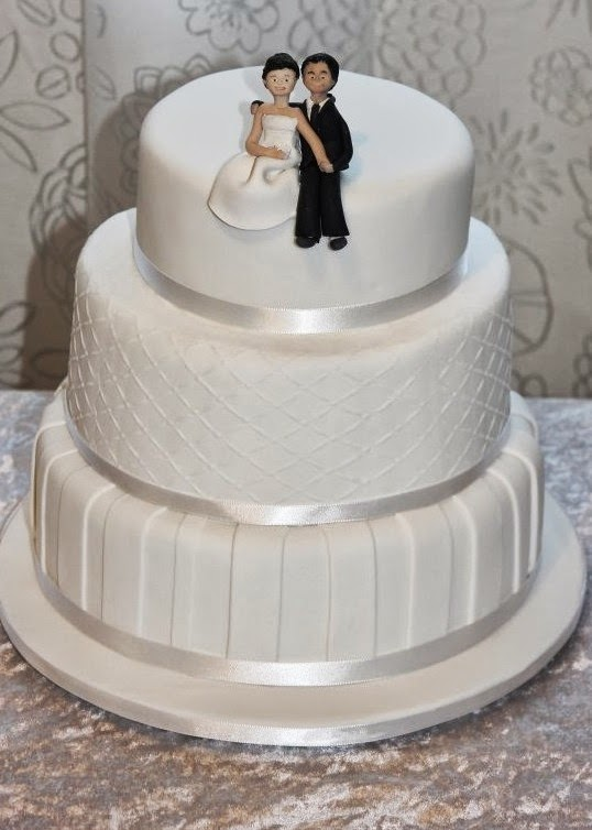 wedding cake designs for 100 guests gallery