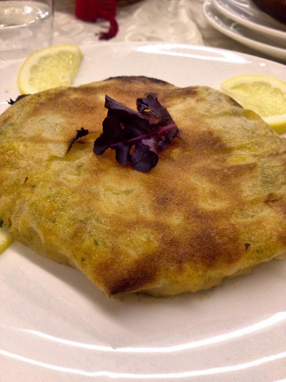 Pastilla de pescado y marisco