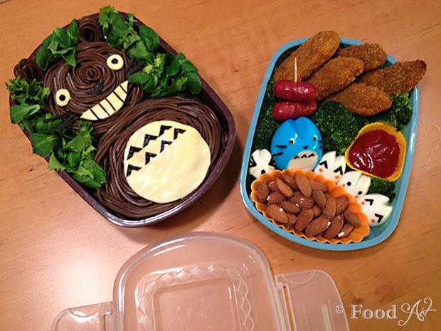 Bento No. 020 - Totoro Bento (Charaben) - Food Art