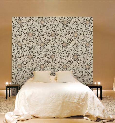 Không gian đẹp nhờ giấy dán tường 6