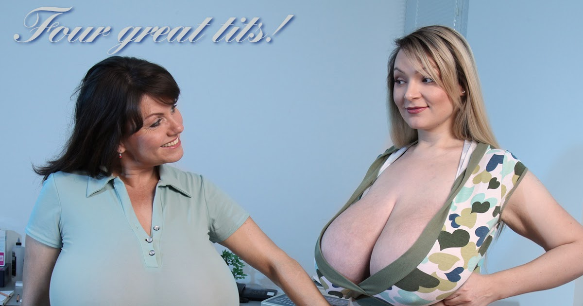 Udderly Amazing: Milena Velba & Mickey Bells - Four Great Tits