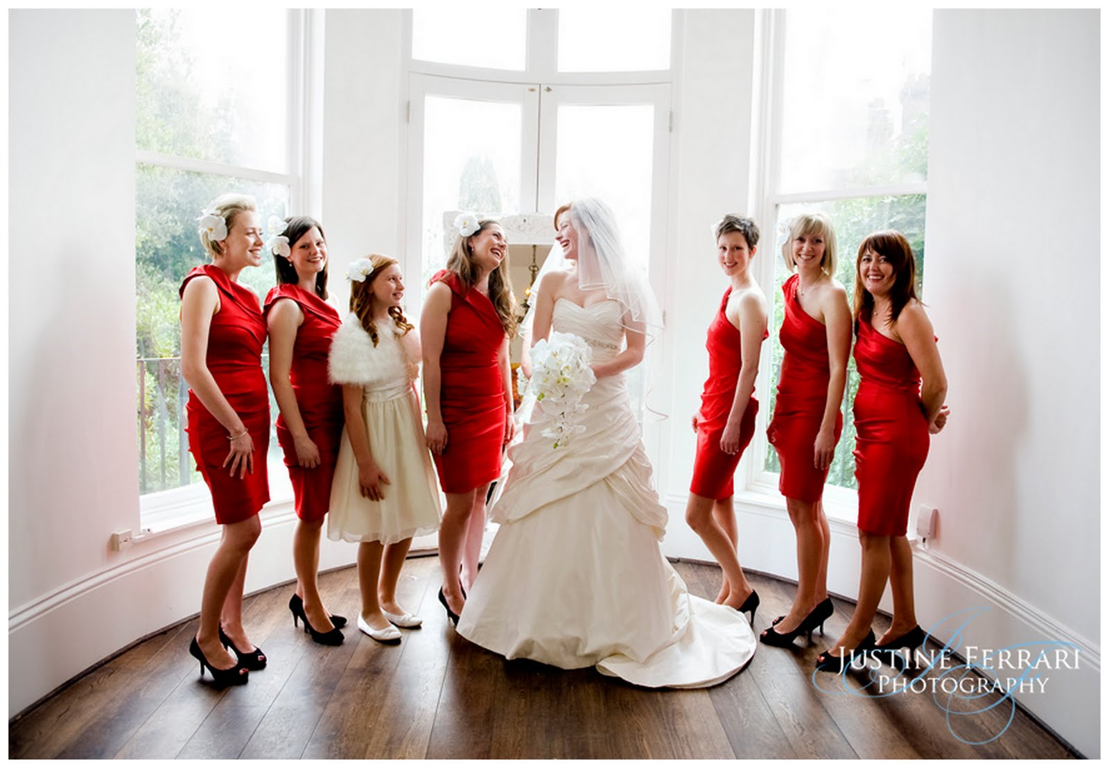 Real Spring Red Themed London Wedding Sara Rich