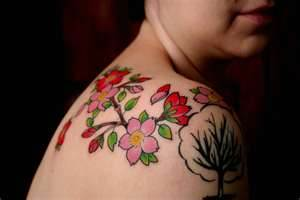 Cherry Blossom Tattoos Designs