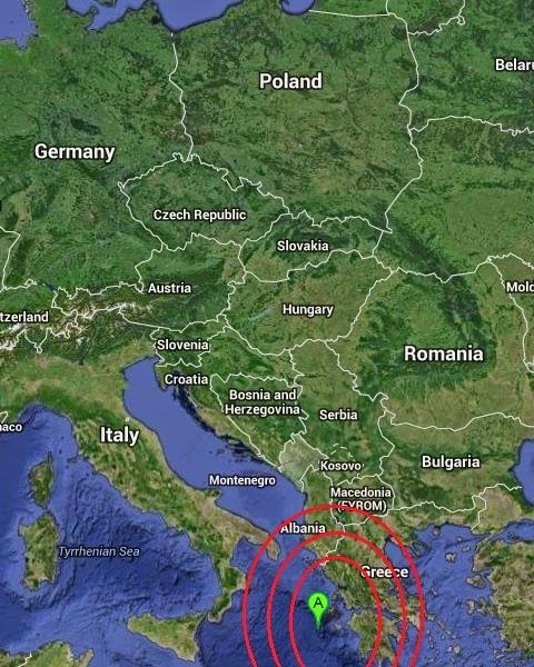 Magnitude 4.6 Earthquake of Lixourion, Greece 2014-09-07