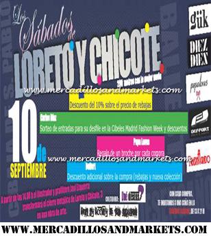 Mercadillos and markets los s bados de loreto y chicote for Calle loreto prado y enrique chicote