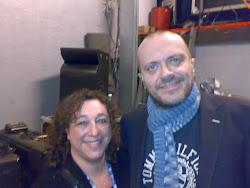 Cristina Noris e Max Pezzali