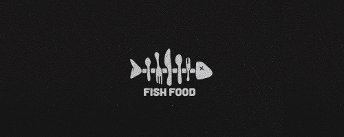 Fish Food Logo Design