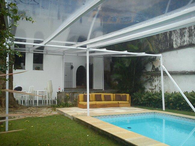 Toldos botafogo rio de janeito toldo bofafogo tendas for Toldos para piscinas