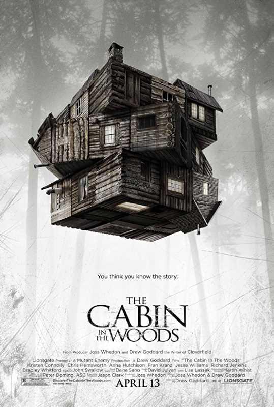The Cabin In The Woods 2012 720p x264 Esub BluRay  Dual Audio English Hindi GOPISAHI