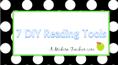 DIY Reading Tools A Modern Teacher