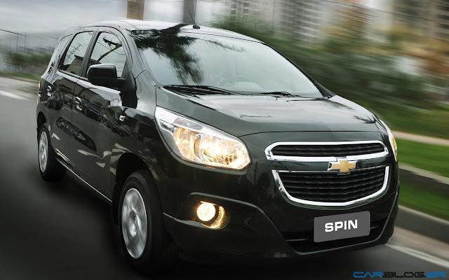 Nova Chevrolet Spin 2013 - preto global
