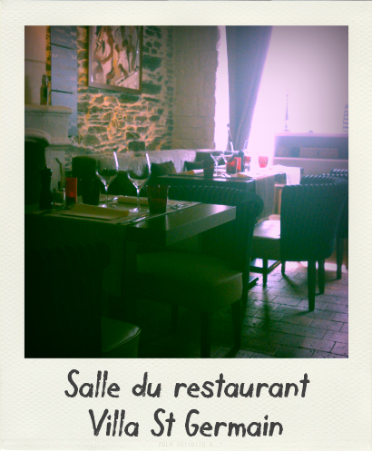 Restaurant Oudon Villa St Germain