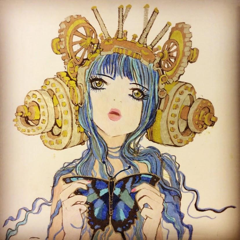 Manga Popart Butterfly