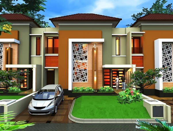 Desain dan Denah Rumah Minimalis Type 90