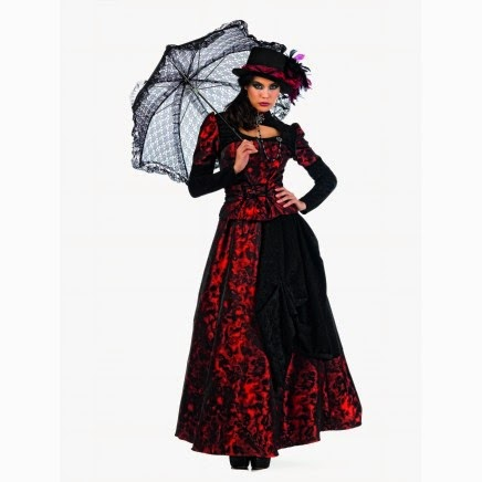 Traje de Gótica Victoriana