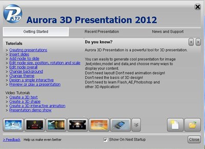 download Aurora 3D Presentation 12.03.02 + Serial 2012 Programa