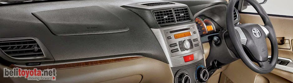 Interior Toyota Avanza Luxury 2014