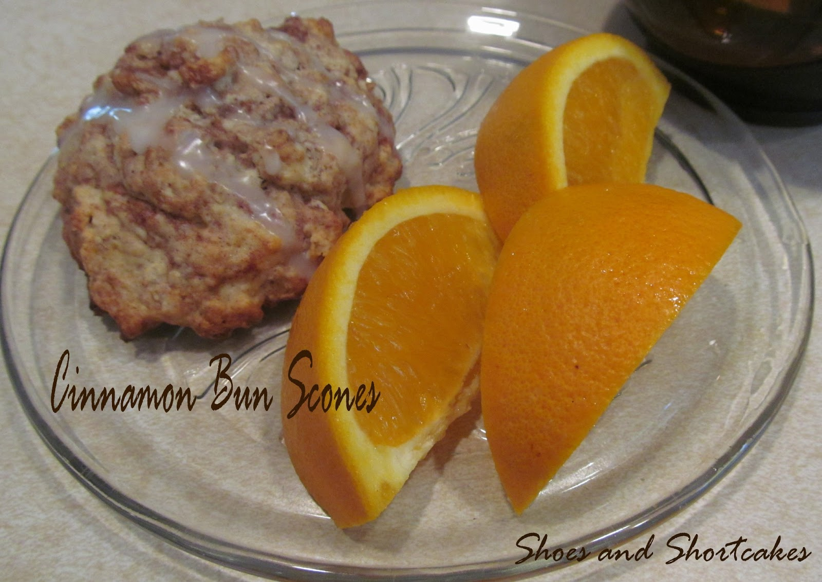 Shoes and Shortcakes: Cinnamon Bun Scones