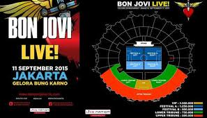 Jadwal Konser Bon Jovi 11 September 2015