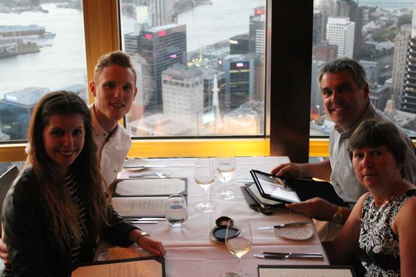 Sydney Sky Tower, 360 Bar and Dining, Sydney's revolving restaurant