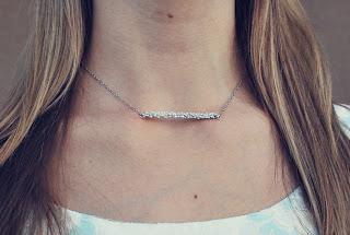 Silver necklace for sale at shop.haroldstudio.com