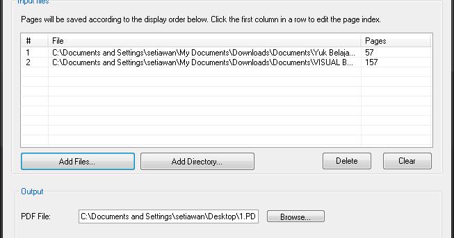 cara menggabungkan file pdf tanpa software