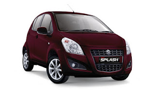 Suzuki New Splash Merah