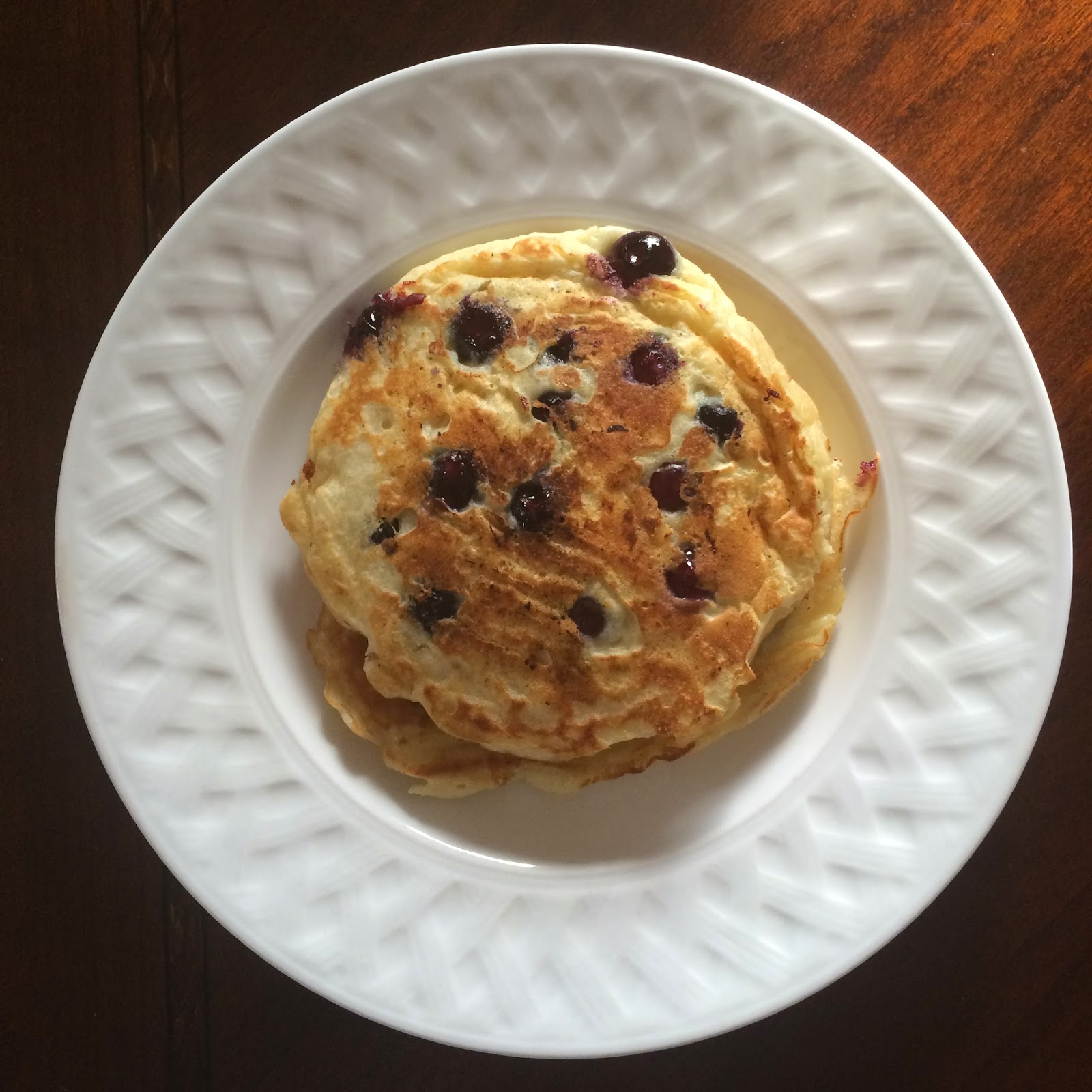 Lemon Blueberry Pancakes, Brunch, Breakfast, Recipe