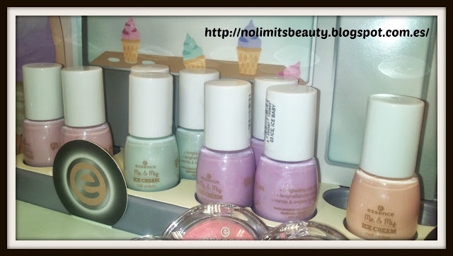 Essence Me & My Icecream - Nail Polishes