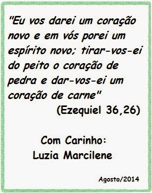 Mensagem da Professora Luzia Marcilene