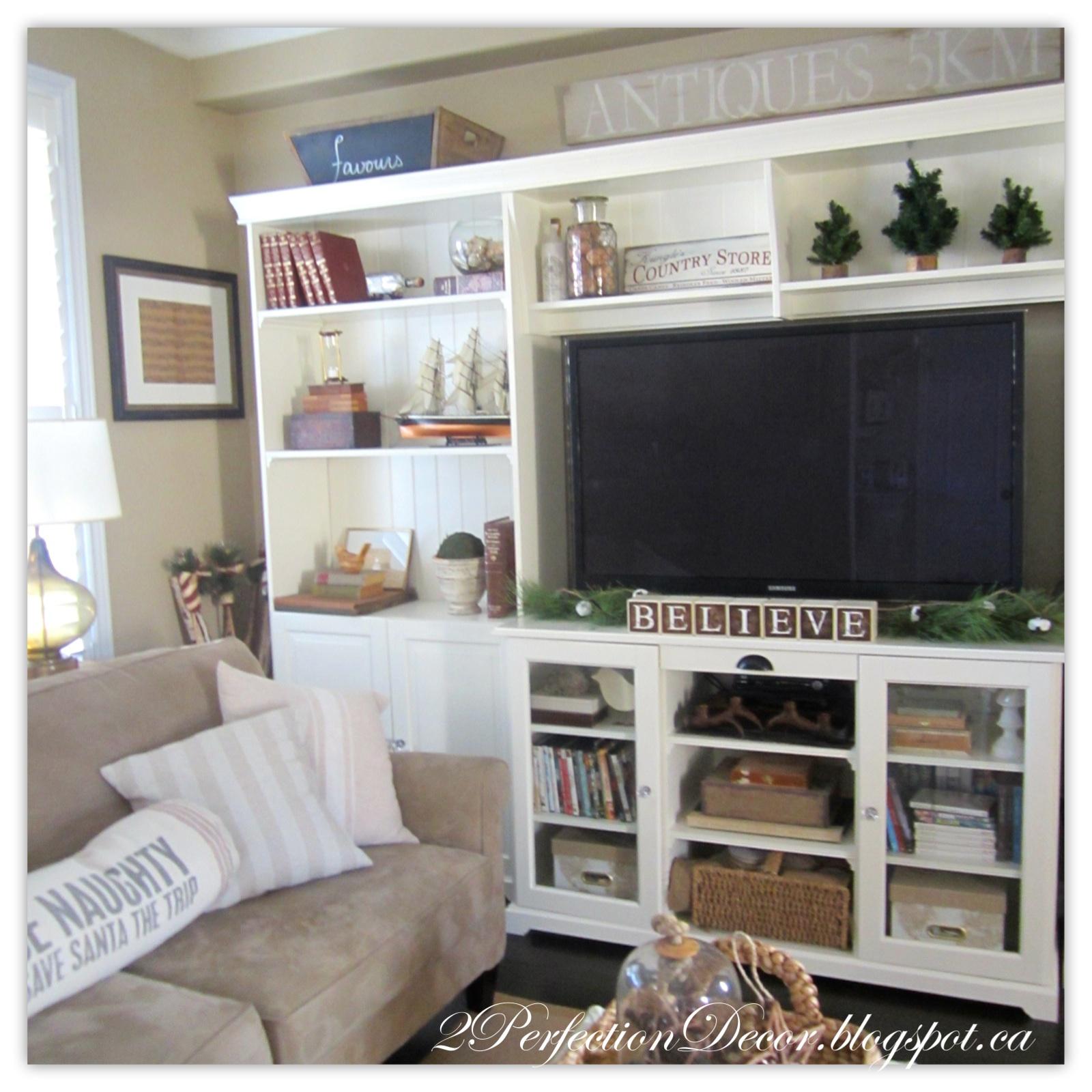 Vitrine Ikea Liatorp 2perfection Decor Christmas Home Tour 2015