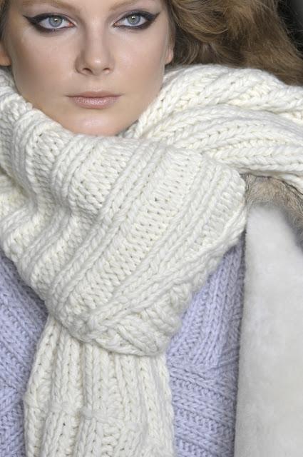 STUART scarf sciarpa tricot